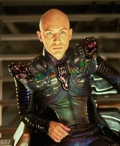 Shoulder pads look set to make a big comeback in the 24th century.